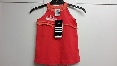 Baby girls adidas dress, summer top 6-9 months