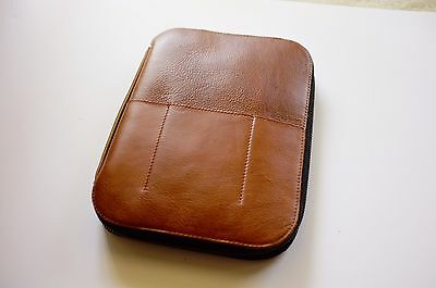 This is Ground Mod Tablet 2 Leather Case Cognac with Executive Insert