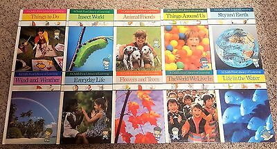 Lot of 10 A Child's First Library of Learning Hardcover Books ~Time Life Series