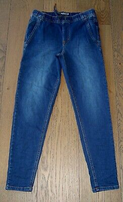 Indie And Co  Boys Slim Fit Elastic Waist Jeans Sz 12