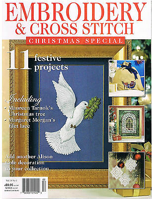 CRAFT MAGAZINE Embroidery and Cross Stitch Magazine, Christmas Special, 2010