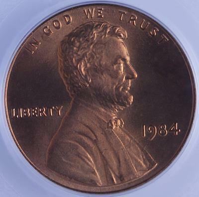 1984 P Lincoln Cent Double Die Obverse, Pcgs Ms67Rd, Scarce Major Error Coin!