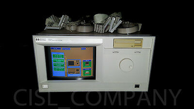HP 16500A Logic Analysis w/ Cables and Modules 16510B (x2), 16521A (x2), 16520A