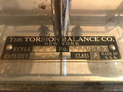 Antique Apothecary Drug Store Pharmacy Scale Torsion Balance Co