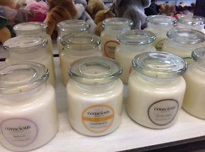 **HANDMADE 100% SOY WAX CONSCIOUS CANDLE CO. SCENTED JAR CANDLE ~ 16oz (450g)**