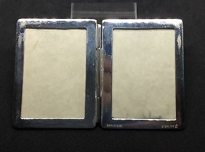 Vintage Tiffany Co Solid Silver Travel Folding Small Photo Frame