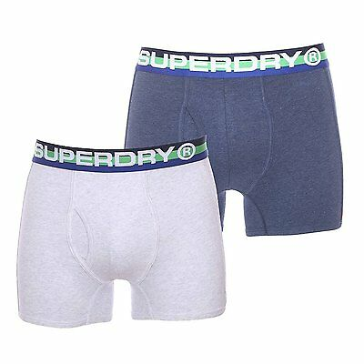Lot De 2 Boxers Retro Sport Superdry