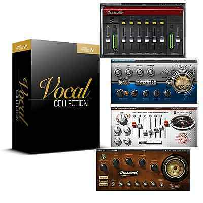 Waves Signature Series Vocals Plugin Software Bundle (Serial Download)