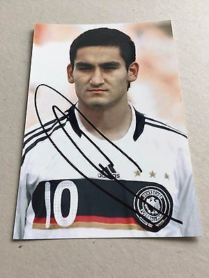 ILKAY GÜNDOGAN DFB signed Photo 10x15 WELTMEISTER