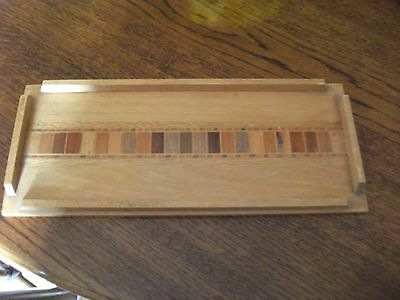 Vintage  1960`s Sovereign Tray From  New  Zealand  Timbers