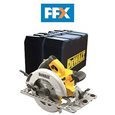 DeWalt DWE576K 240v Precision Circular Saw 190mm, 1600w and Track Base