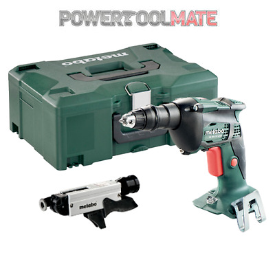 Metabo SE 18 LTX 4000 Drywall Screwdriver with Magazine & Carry Case