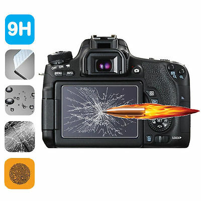 9H HD Tempered Glass LCD Screen Protector 2-Pack for Fuji Fujifilm X100F X100T