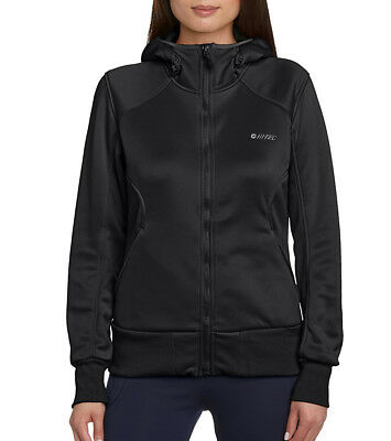 Hi-Tec Akemi Hooded Ladies Fleece Jacket - Black