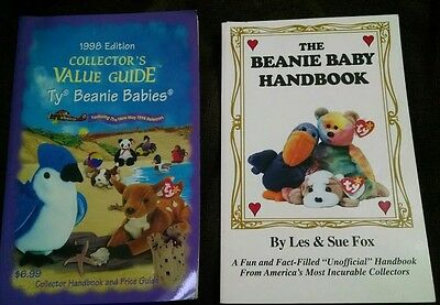 1998 edition collector's value guide ty beanie babies and beanie baby handbook
