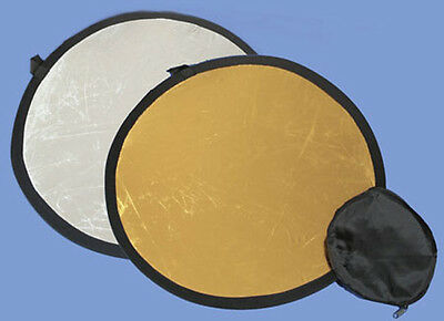2 in 1 110cm Gold silver reflector 42 inches or 3ft 6inches