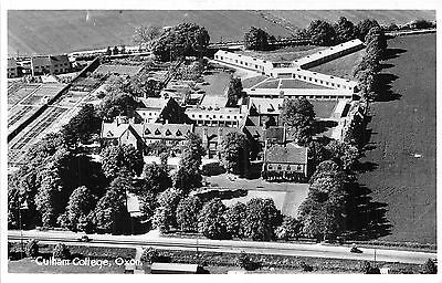POSTCARD   OXON    CULHAM  College  Aerial  View   RP