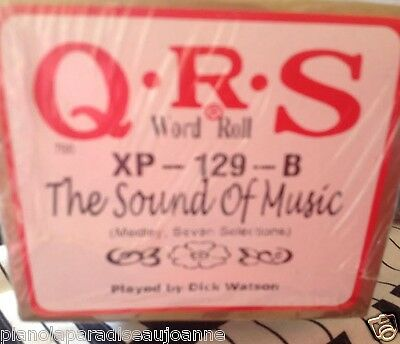 Sound Of Music 7 Selections Brand  New L/ Play Pianola Player Piano Roll