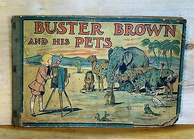 1913 New York Herald BUSTER BROWN and HIS PETS promo BOOK scarce DECENT good