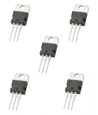 5 x LM317 Positive Voltage Regulator 1.25v to 37v 1.5A IC 3 pin TO-220
