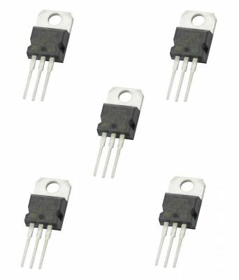 5 x LM317 Voltage Regulator 1.25v to 37v 1.5A IC 3 pin TO-220