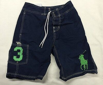 Polo Ralph Lauren Swim Shorts / Trunks - Boys - Blue  - S (8)  - Good Used