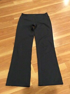Womens Athleta Pants size S small Gray Yoga running activewear