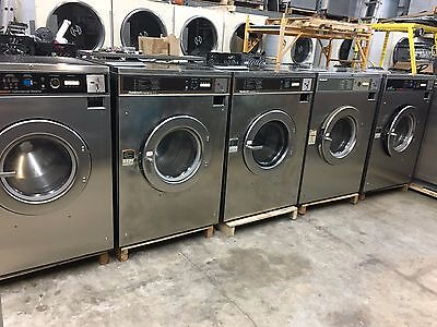 Coin Laundry Equipment - Huebsch 50 Lb. Front Load Washers