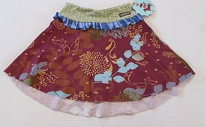 Matilda Jane Character Counts Ruffled Flower Skirt Girls 2 New With Tags READ