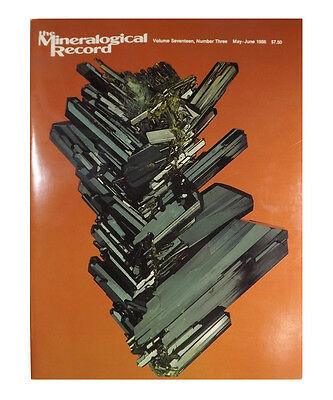 Mineralogical Record 1986 Volume 17 May-June (Number THREE)  - Pristine