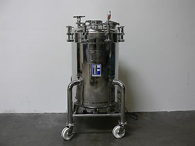 Feldmeier 250 Liter Jacketed Stainless Steel 50 PSI Pressure Vessel w/ Mixer