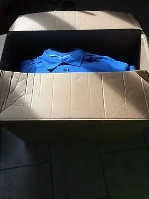 Joblot Organic Adult Polo Shirts Hanes 7330 New For Clearance