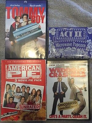 Laugh Until Your Sides Hurt Movie Night Dvd Movie Lot Of 5 Movies