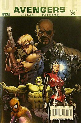 Ultimate Comics Avengers (Vol 1) #   3 Near Mint (NM) Marvel Comics MODERN AGE