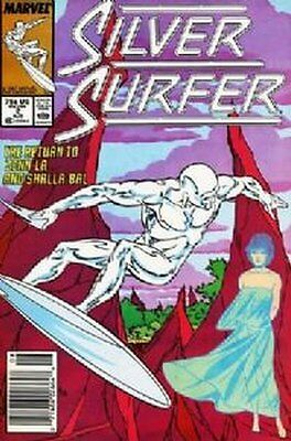 Silver Surfer (Vol 2) #   2 (VFN+) (VyFne Plus+) Marvel Comics ORIG US