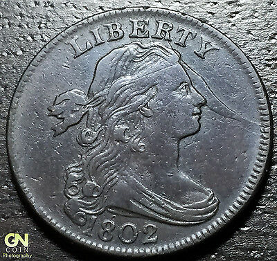 1802 Draped Bust Large Cent  S239 --  MAKE US AN OFFER!  #G3892