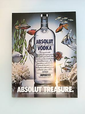 Absolut Vodka - Magazine Ad - Absolut Treasure