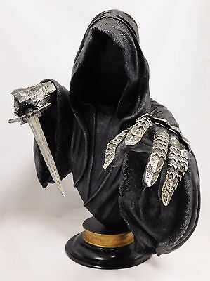 Sideshow Lord Of The Rings Ringwraith Legendary Scale Bust Statue Figure New