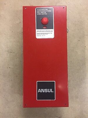 ANSUL AUTOMAN Regulated  Release Switch Part no. 32381