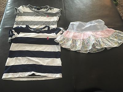 Girls 2t 24 Months Polo Ralph Lauren Skirt Lot