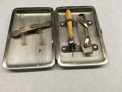 Rare Antique Medical Tattoo Device Tool Doctors Kit Surgical Instrument Vintage