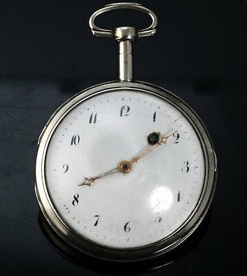 Johan Renaurd Kopenhagen Dänemark 1780 Spindeluhr Verge Fusee pocket watch