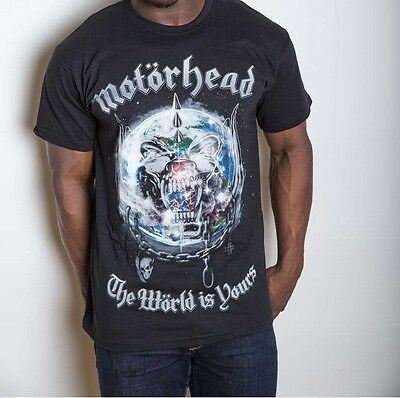 Motörhead - The World Is Yours Album T-Shirt M/l/xl