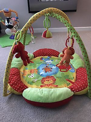 Mothercare Safari Baby Play Mat And Gym With Toys