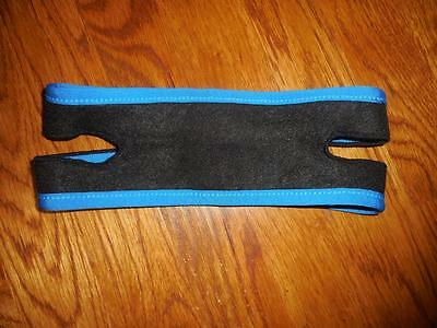 NEW MY SNORING SOLUTION blue Anti Snoring Chin STRAP