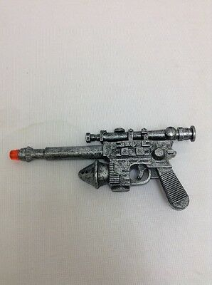 "Star Wars Lucasfilm LTD Toy Blaster Gun Lights Sounds 6"" Scope"