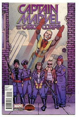 CAPTAIN MARVEL AND THE CAROL CORPS #2 Variant Comic 1st Print NEAR MINT to NM+