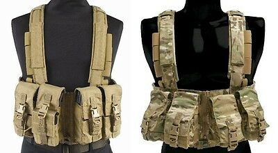 Eagle Industries Multi-Purpose Split-Front w/Zipper MOLLE Chest Rig MPCR-SFZ-MS