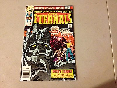 ETERNALS #1 Marvel Bronze Age 1st Appearance Debut Issue HIGH GRADE #BB