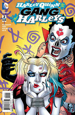 HARLEY QUINN AND HER GANG OF HARLEYS #2 Variant Conner 1:25 DC Near Mint to NM+